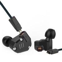 KZ ZS6 2DD 2BA Hybrid In Ear Earphone HIFI DJ Monitor Headphone Running Stereo Sport Headset