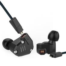 KZ ZS6 2DD+2BA Hybrid In Ear Earphone 4 Drive Units HIFI DJ Monitor Headphone Running Stereo Sport Headset Earbud Auriculars