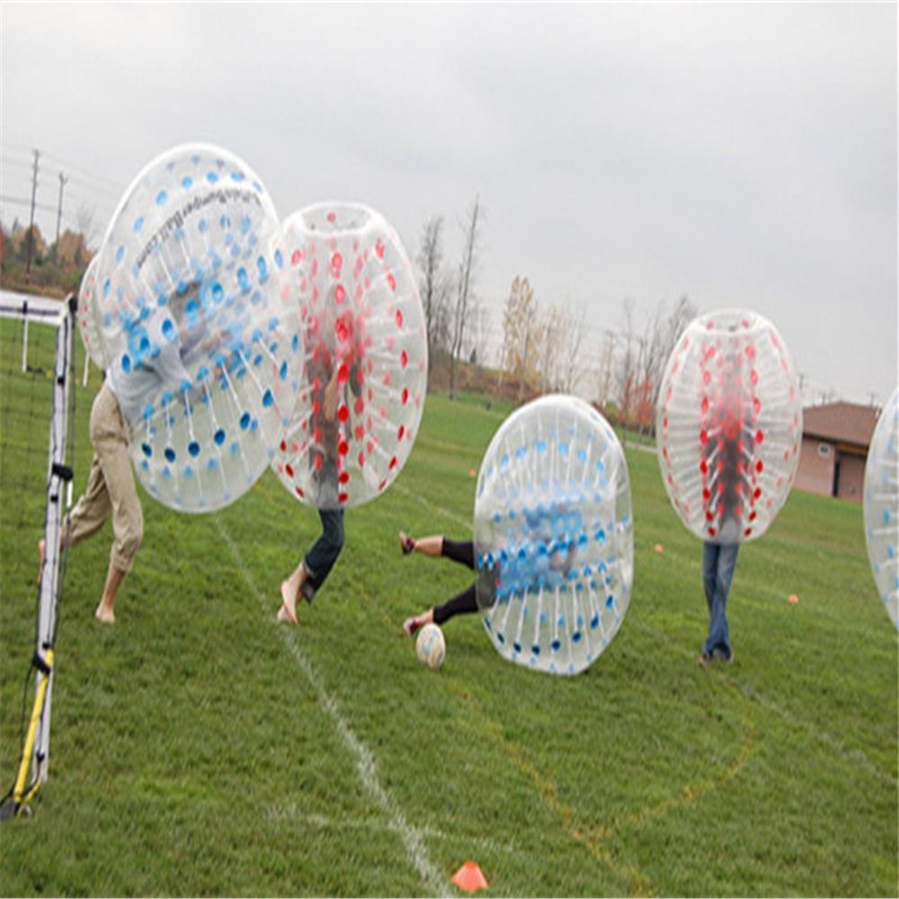 1.5M PVC Bubble Soccer Futbol satılır plastik böyüklər üçün - Komanda idman növləri - Fotoqrafiya 4