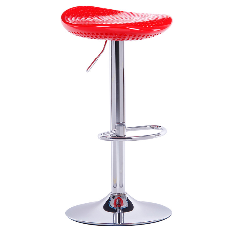 Lift Chair Bar Counter Stool Swivel Chair Tea House Red Yellow Black Stool  Free Shipping