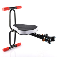 Electric Bicycle Baby Seat Child Chair Mtb Quick Release Saddle Kids Seat Support Soft Cushion Baby with Armrest Pedal Cycling