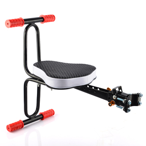 Electric Bicycle Baby Seat Child Chair Mtb Quick Release Saddle Kids Seat Support Soft Cushion Baby with Armrest Pedal Cycling(China)