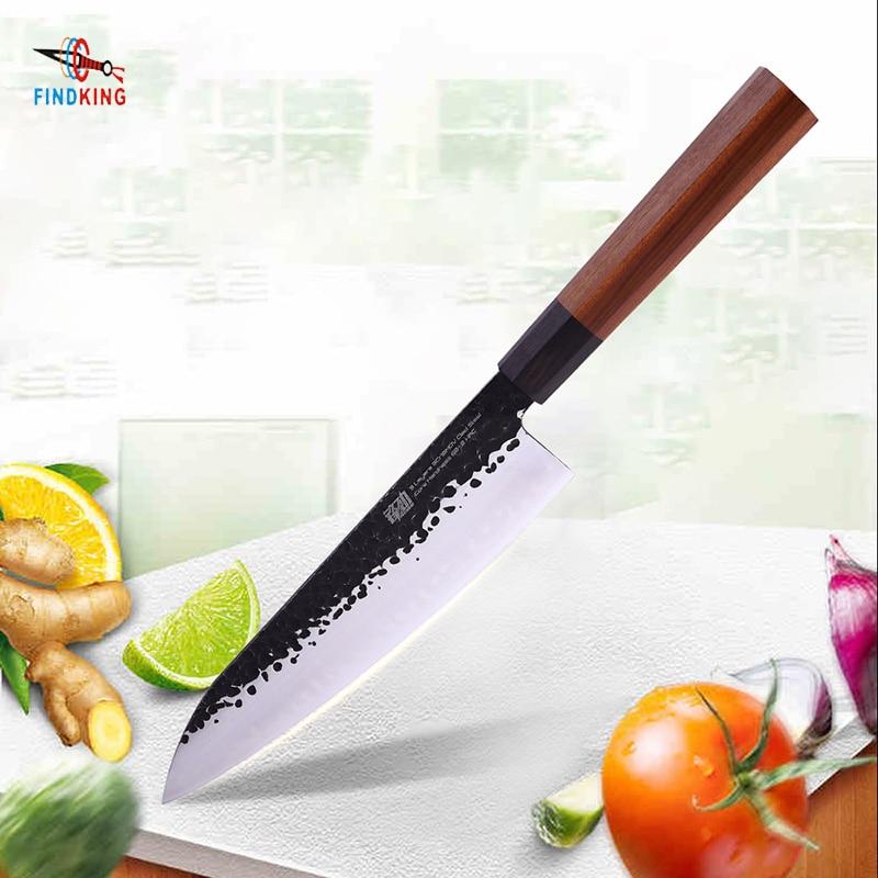 FINDKING 9 zoll sushi koch messer Japanischen Professionellen Achteckigen Griff Verkleidet Stahl Sushi Messer Küche Kochmesser-in Küchenmesser aus Heim und Garten bei AliExpress - 11.11_Doppel-11Tag der Singles 1