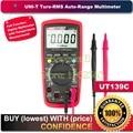 "UNI-T UT139C True RMS 2.6"" LCD Digital Multimeter Electrical Handheld Tester Multimetro LCR Meter Ammeter Multitester"