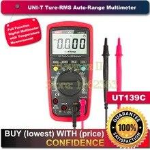 "UNI-T UT139C Rms real 2.6 ""LCD Multímetro Digital Eléctrico Handheld Tester Multimetro LCR Meter Amperímetro Multitester"