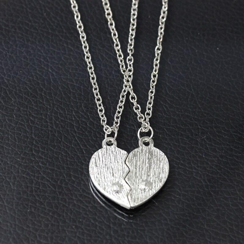 9f8d0ee624 Vintage Black Heart Double Chains per Pair