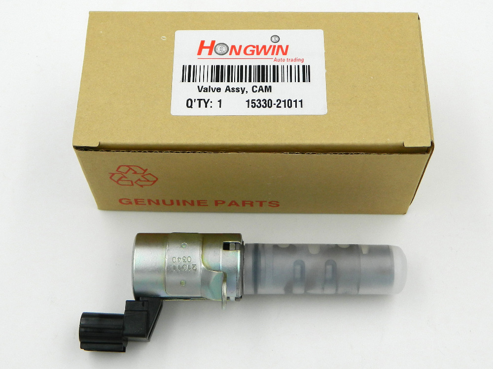 OEM:15330-21011 VVT Camshaft Timing Control Valve For Toyota Echo Prius Yaris Oil Control Valve Variable Timing Valve For Toyota ...