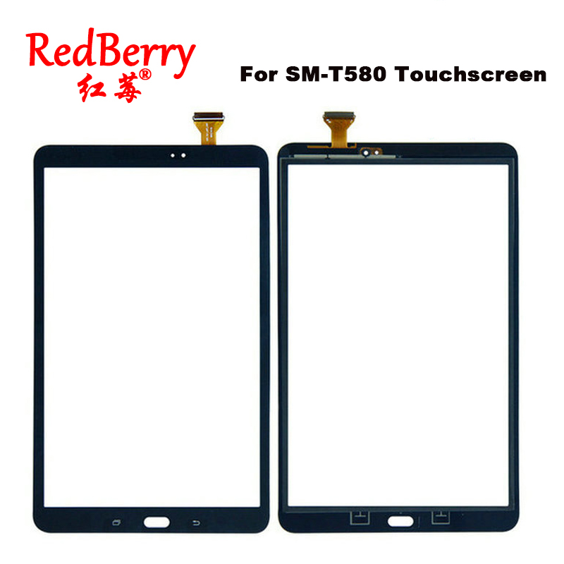 For Samsung Galaxy Tab A 10.1 SM-T580N T580 Touch Screen Glass Digitizer Tablet Touch Sensor panel Replacement Free Shipping new for 6 explay tab mini m7 tablet touch screen panel digitizer glass sensor replacement free shipping