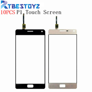 """RTBESTOYZ 10PCS New Front Glass Lens Panel Touch Screen Digitizer Replacement For Lenovo Vibe P1 5.5"""""""