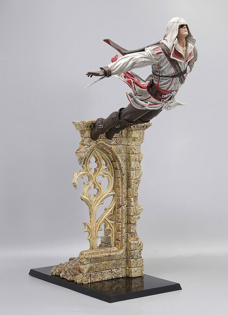 Ezio Leap of Faith (Assassin's Creed) Figure the salmon who dared to leap higher