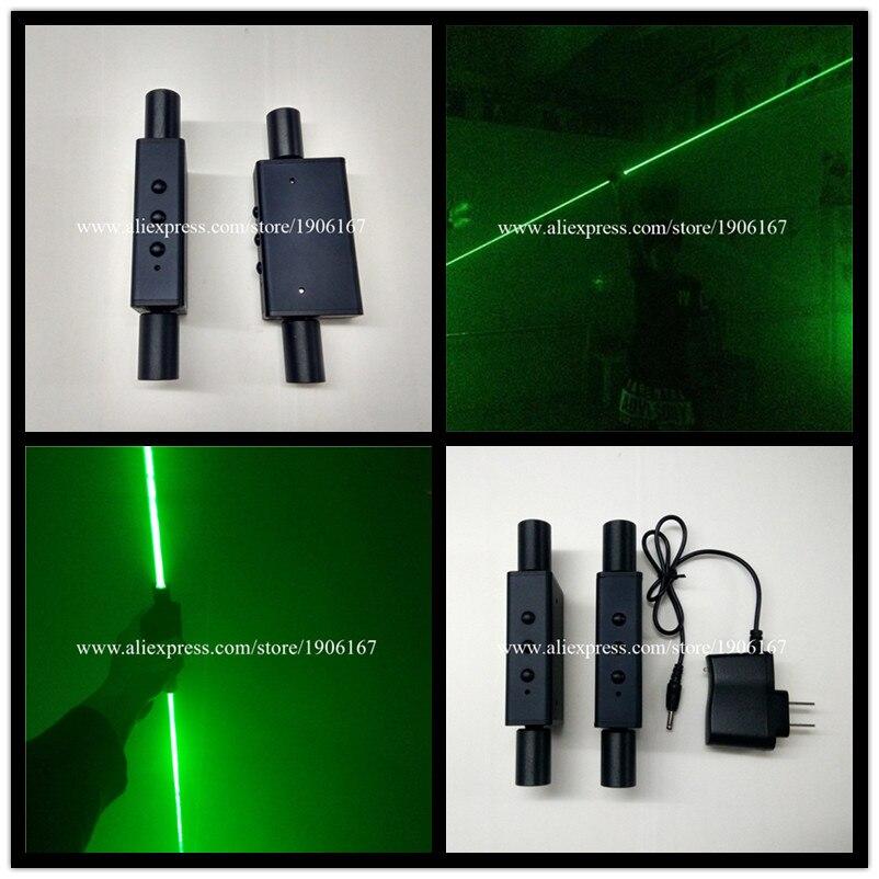 Wecool nuovo disegno 2 pz laser verde ad alta potenza mano laser sword per laser show laser man danza dj prestazioni