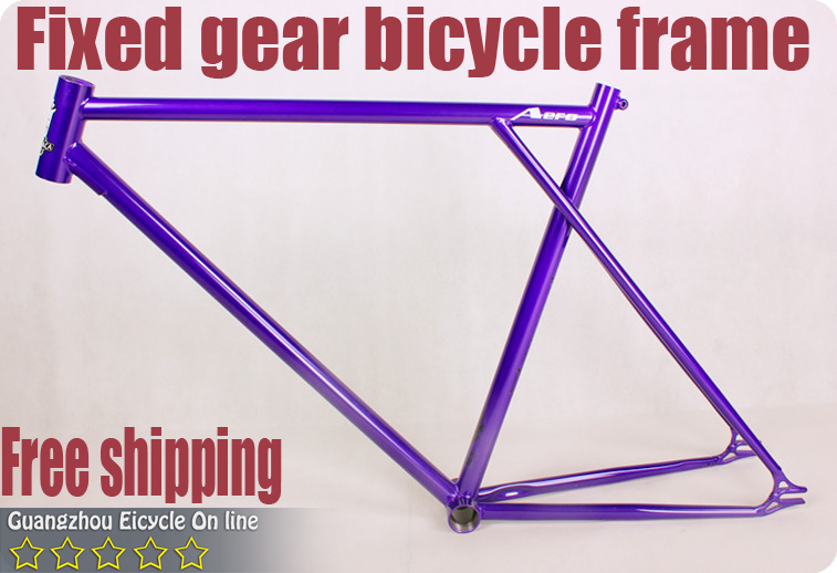 Hotsale Bicycle Parts Steel Bicycle Frame Fixed Gear Bike Frame