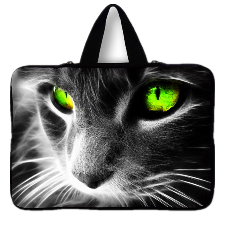Cute Cat Notebook Bag Smart Cover For ipad MacBook Laptop Sleeve Case 7 10 12  13  14  15 17 Laptop Bag #5