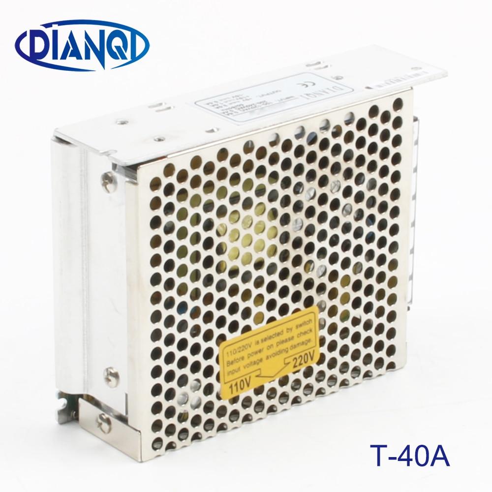 Triple output power supply 40w 5V 3A, 12V 2A, -5V 0.5A power suply T-40A  ac dc converter good qualityTriple output power supply 40w 5V 3A, 12V 2A, -5V 0.5A power suply T-40A  ac dc converter good quality