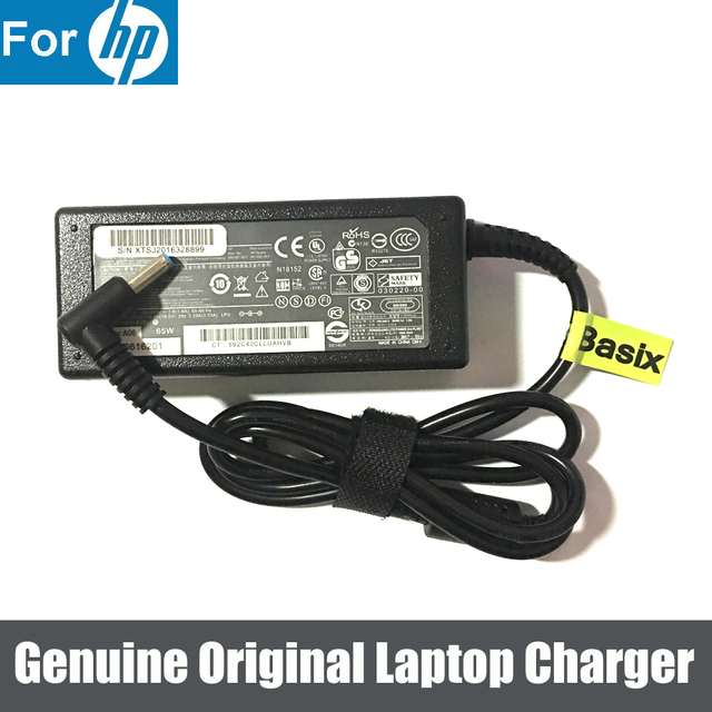 Auregon 65W AC Power Adapter Charger For HP Chromebook 14 Q010dx Q010sa Q030ef