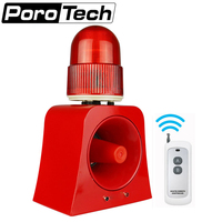 SF 502 Industrial Audible And Visual Alarm Device Beacon Siren Alarm Sound Support 100m Wireles Remote