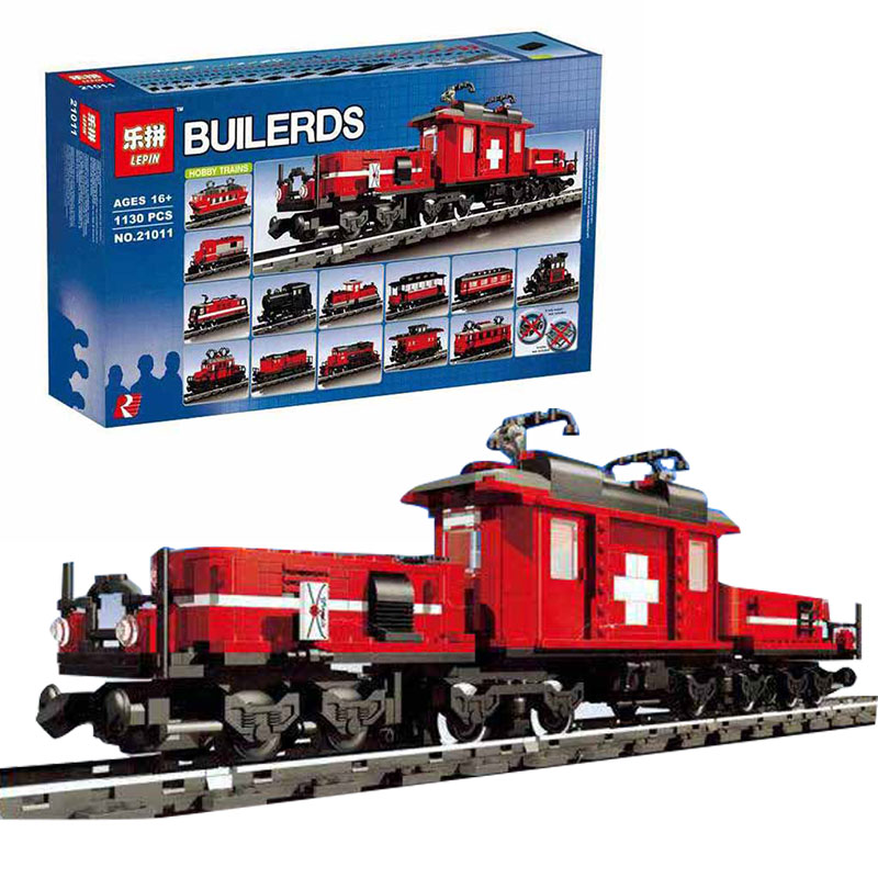 Lepin 21011 Technical Series The Medical Changing Train Set Children Educational Building Blocks Bricks boy Toys Model 10183 B59