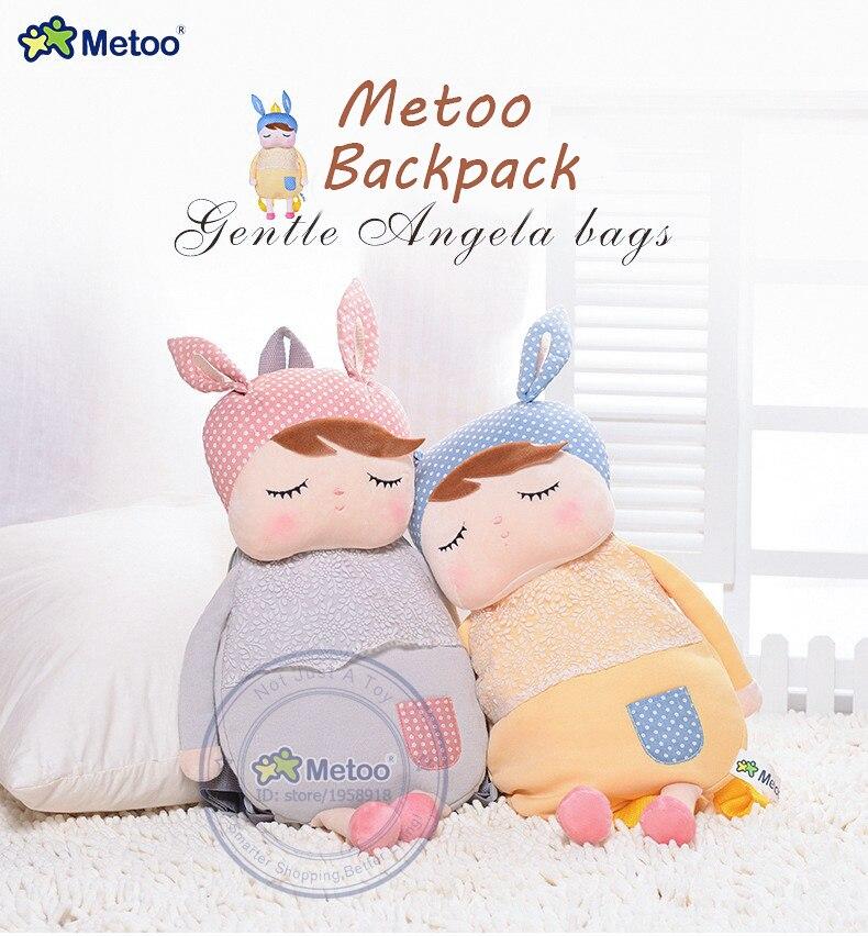 Angela Plush Kid Child Cartoon Backpack Schoolbag Shoulder Bag