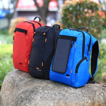 Multi-function Solar Panel Backpack 5