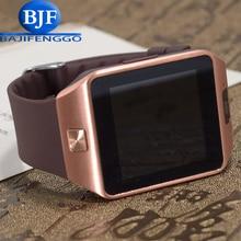 Bluetooth smart watch para el teléfono android soporte sim/tf hombres mujeres reloj inteligente usable reloj deportivo gt08 gv18 whatsapp