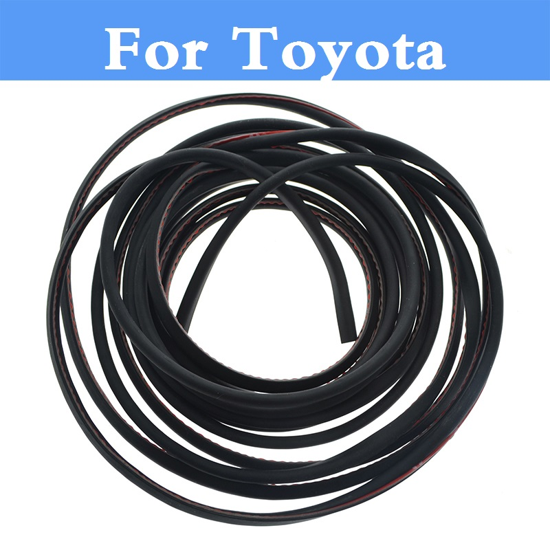 Auto Door Scratch Protector Cover 8M Moulding Trim Strip for Toyota Corolla Rumion Corolla Runx FJ Cruiser Fortuner GT86 Harrier
