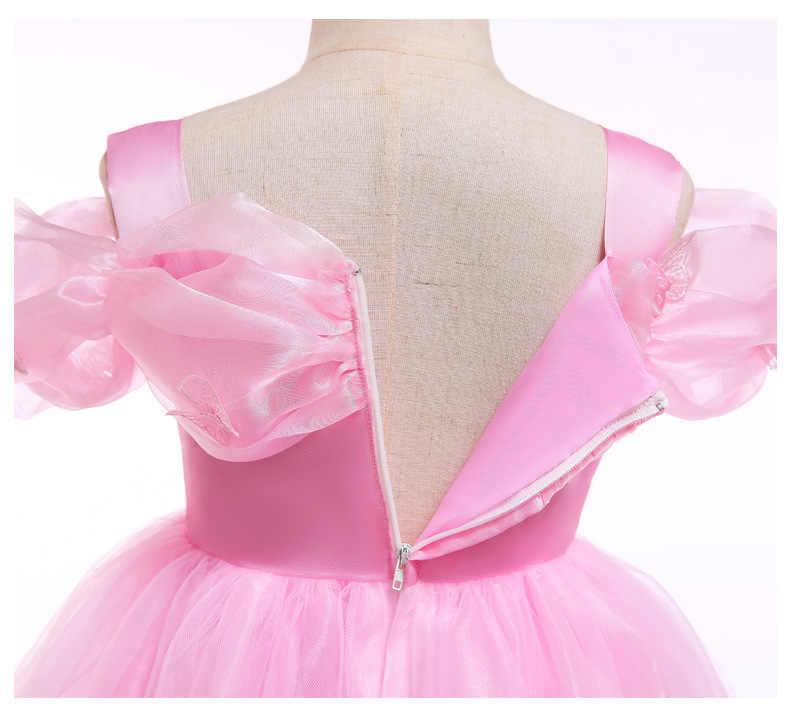 שמלת ילדה סינדרלה ילדי נסיכת סופיה שמלת עבור מסיבת חתונה רשת ילדים תלבושות בנות שמלות לחתונה מסיבת יום הולדת