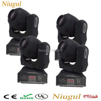 4pcs Lot Free Shipping High Brightness 60W LED Spot Moving Head Light 60W LED DJ Spot