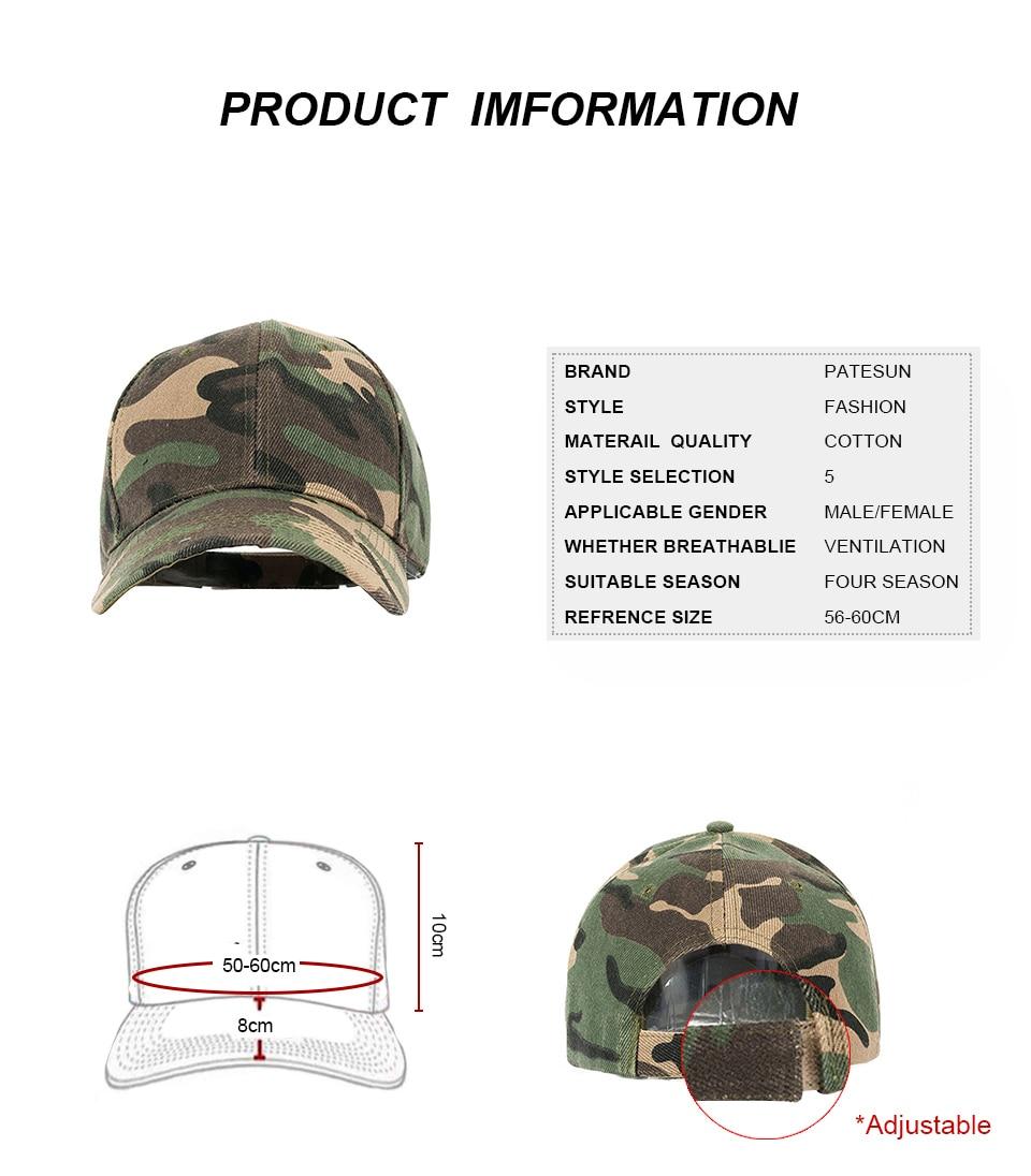 Composite Bats Baseball Cap Camouflage Hats For Men Women