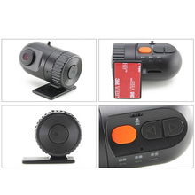Mini Car DVR Vehicle Camera Video Recorder Dash Cam Recorder 140 Degree View Angle Car-detector Motion Detection Bluetooth MOV