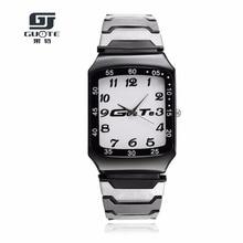 Reloj de los deportes al aire libre de los hombres Reloj de cuarzo de acero inoxidable de alta calidad Relogio Masculino Reloj impermeable de la manera de los hombres