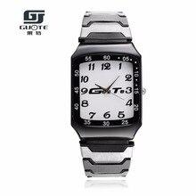Mäns Outdoor Sports Armbandsur Kvalitets Stainless Steel Quartz Watch Relogio Masculino Vattentät Män Mode Casual Watch