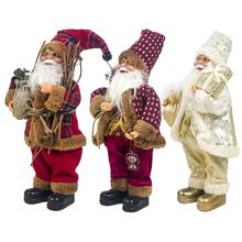 2020 New Christmas Decoration Home Santa Doll Fabric Year