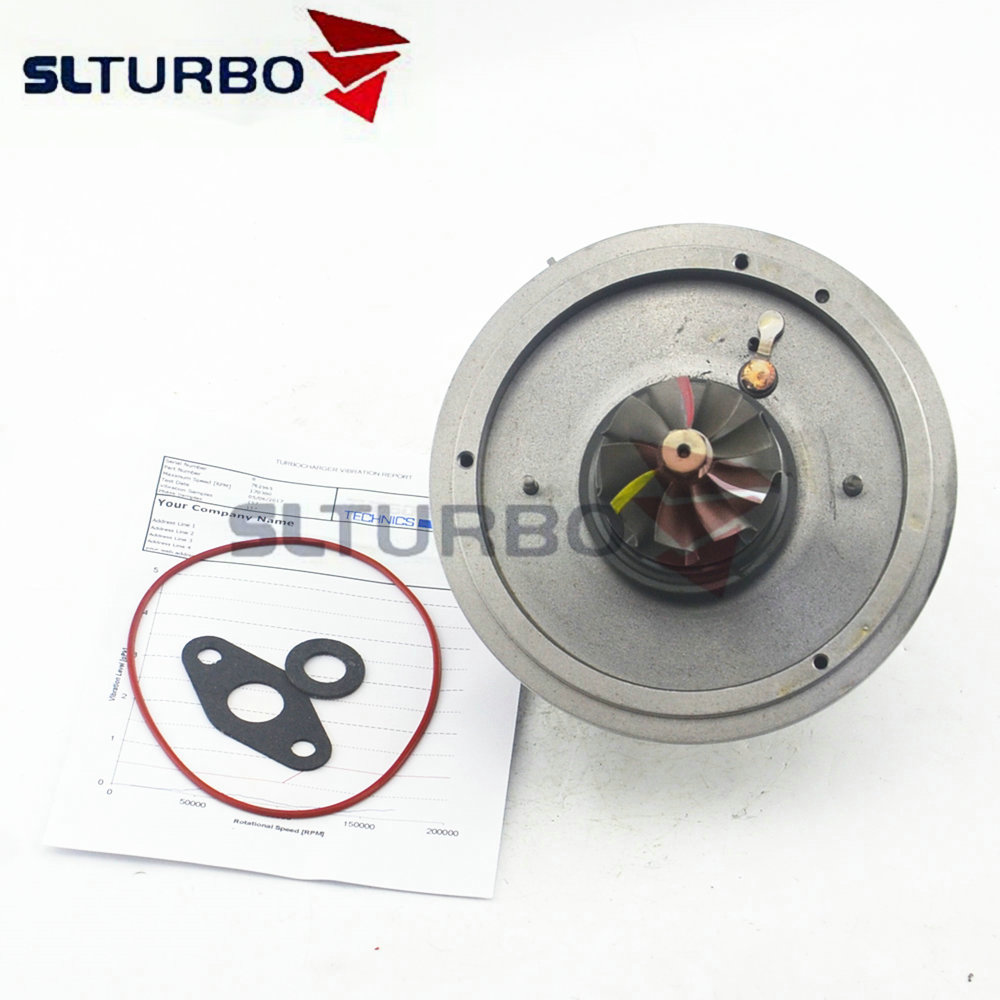 Cartridge turbo Balanced Garrett <font><b>GT1752V</b></font> 762965 for BMW 520D E60 E61 E60N E61N 110Kw 150HP M47D20- turbine core 762965-5020S NEW image