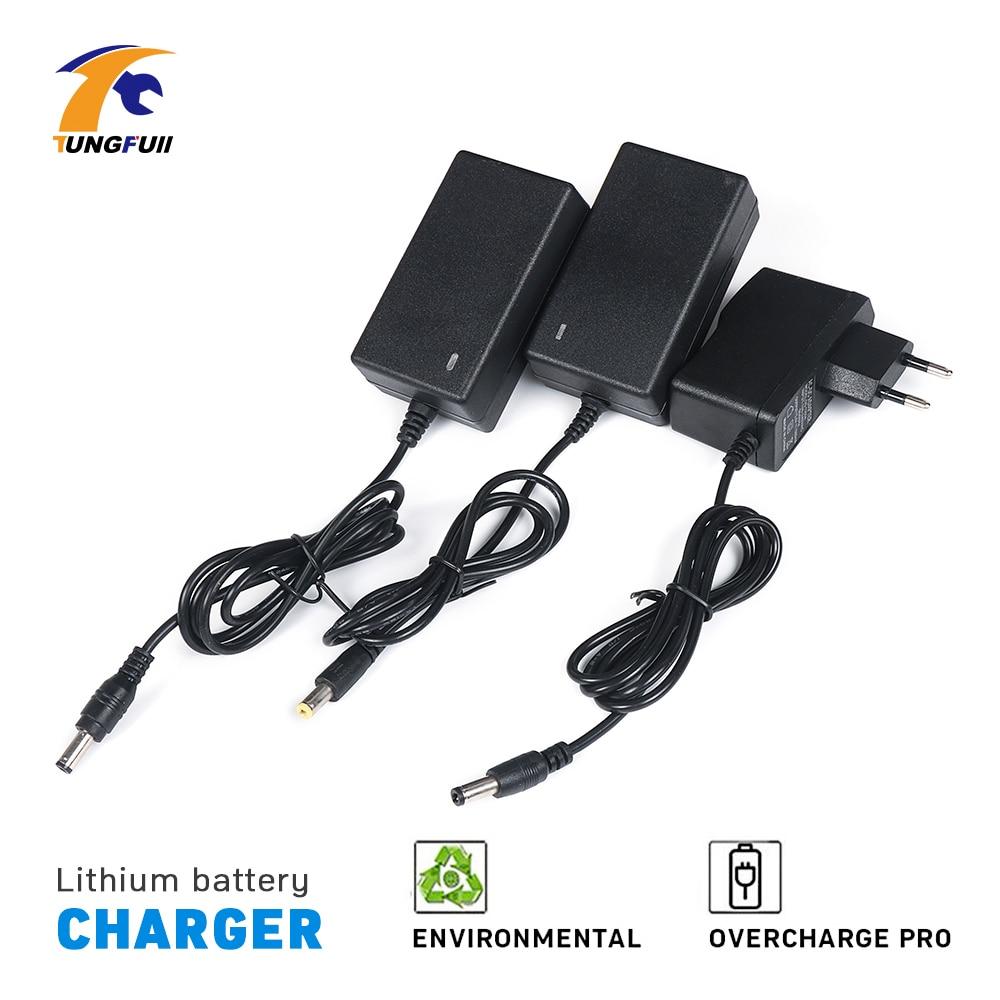 Tungfull UE cargador Bettery para destornillador inalámbrico recargable para taladro eléctrico destornillador eléctrico 12 V 16,8 V 21 V