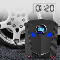 Digital DC 12V ABS Car Tire Air Pump Auto Car Motorcycle Portable Tire Inflator Air Compressor Pump voiture