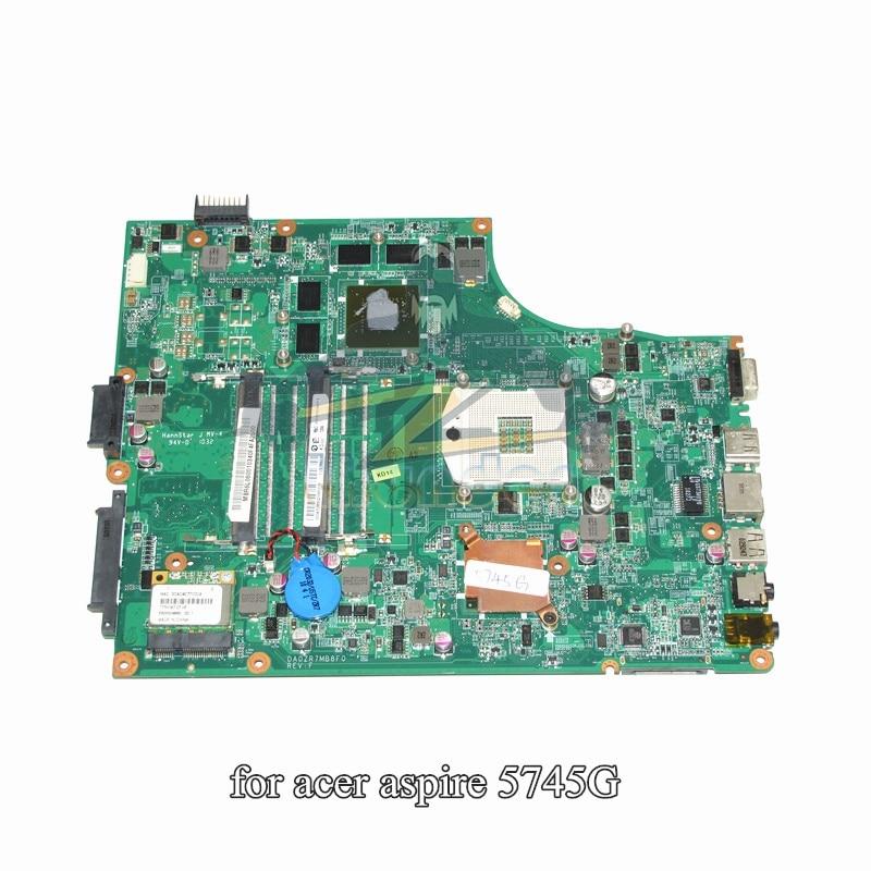 MBR6L06001 DA0ZR7MB8F0 for acer aspire 5745 5745G laptop motherboard HM55 GeForce GT330M ddr3MBR6L06001 DA0ZR7MB8F0 for acer aspire 5745 5745G laptop motherboard HM55 GeForce GT330M ddr3