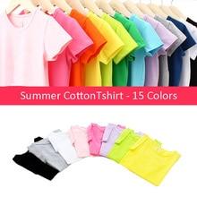 New Summer Girls T Shirt Cotton short sleeve Garment T Shirt For Girls Tops Tees Outwear Clothing Baby Kids Clothes 2-11 Year стоимость