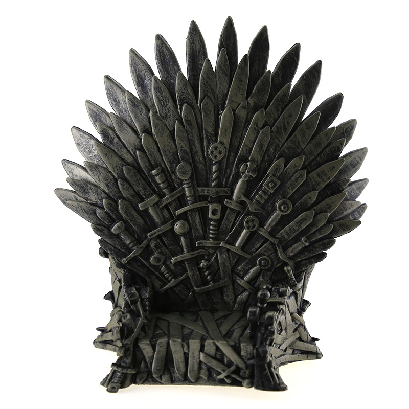 New Iron Throne Game Of Thrones A Song Of Ice And Fire Vinyl Figures Action Movie Fashion Toys Collectible Mode Q Edition Cute 17cm the iron throne game of thrones a song of ice and fire figures action