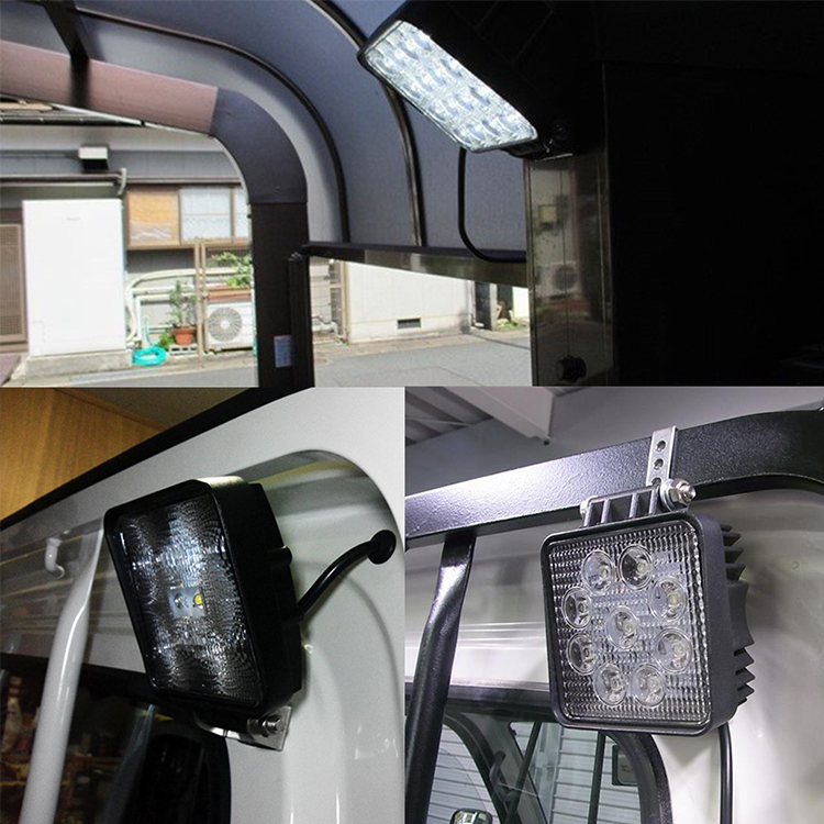 HTB1EDSjXovrK1RjSspcq6zzSXXaw OKEEN 4inch 10cm 18W 27W 48W Offroad Car 4WD Truck Tractor Boat Trailer 4x4 SUV ATV 24V 12V Spot LED Light Bar LED Work Light