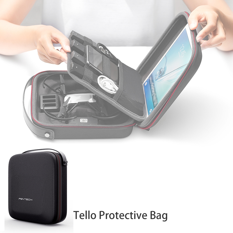 PGYTECH Tello Bag Protective Travel Handbag Storage Bag Carrying Case for RYZE Tello Water-Proof Case Tello Accessories original tello dji accessories tello battery drone tello charger batteries charging for dji hub tello flight battery accessory