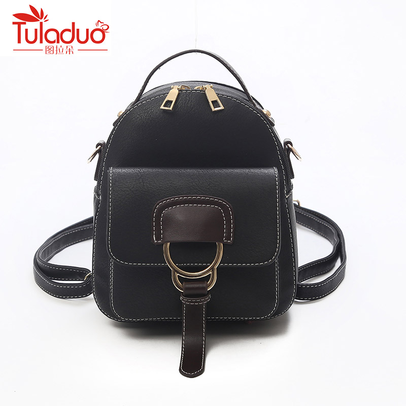 Women Pu Leather Backpack Female Backpack Small Backpack Women Cute Back Pack Backpacks For Teenage Girls Small Bag Mochila