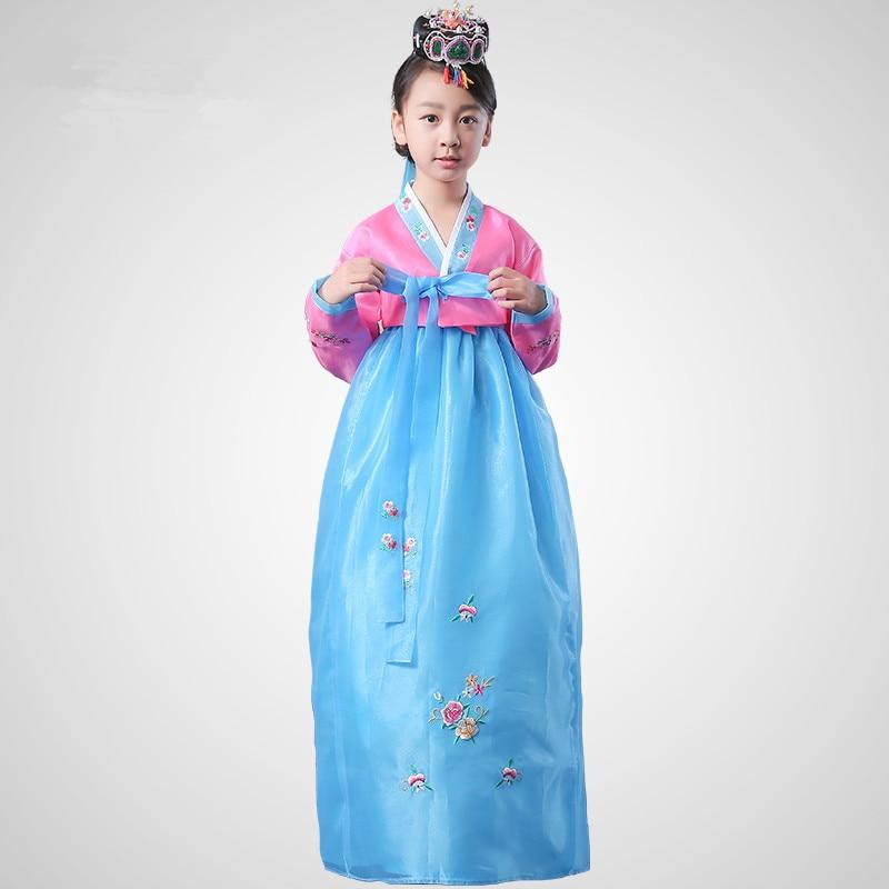 Högkvalitativ Kvinnlig Broderad Siden Koreansk Traditionell - Nationella kläder - Foto 2