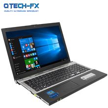 15.6″ Gaming Laptop i7 8GB RAM SSD 512GB 256GB 128G Large Notebook PC DVD Metal Business AZERTY Italian Spanish Russian Keyboard