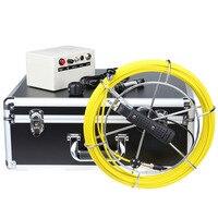 DVR Запись 100ft 7 ЖК дисплей стока канализационных труб инспекции Камера видео эндоскоп