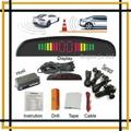 Alarme de carro Sistema de Estacionamento com 4 sensor de estacionamento e estacionamento Display LED para todos os carros, Sistema de assistência de Estacionamento com 4 sensores