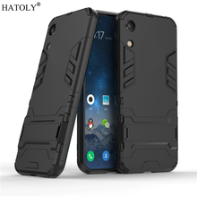 For Huawei Y6 Pro 2019 Case Rubber Robot Armor Shell Hard Back Phone Cover for