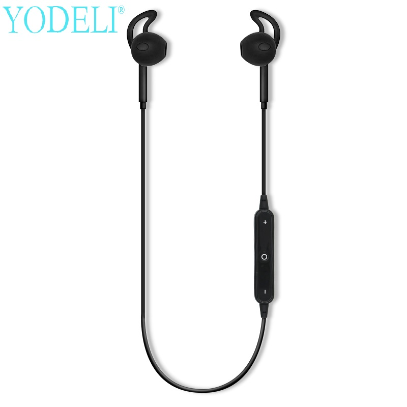 YODELI S6 Bluetooth Earphone Sports Wireless Headset Sweat Proof fone de ouvido Earphones with Mic for iphone xiaomi LG phones ttlife mini bluetooth earphone usb car charger dock wireless car headphones bluetooth headset for iphone airpod fone de ouvido