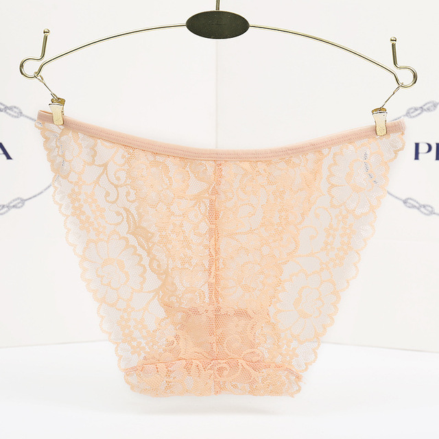 New Sexy Lace Women Briefs Sexy Transparent Seamless Panties Thongs Sexy Women Underwear lingerie Intimates