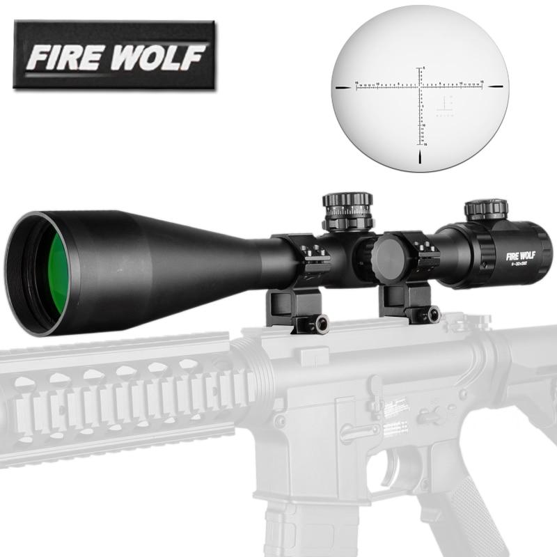 Tactics 8-32X56 E Rifle Scope Side Optics Focus Black Matte For Hunting And Outdoor Use Riflescope Telescope Sniper