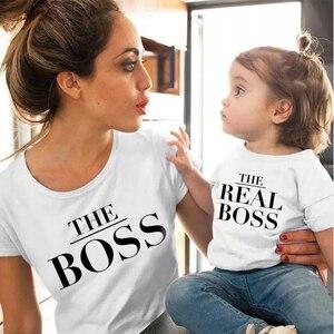 Image 1 - 2020 estate famiglia vestiti di corrispondenza mommy and me maglietta madre figlia femmina figlio abiti mamma mamma t shirt del bambino della ragazza dei ragazzi t camicia